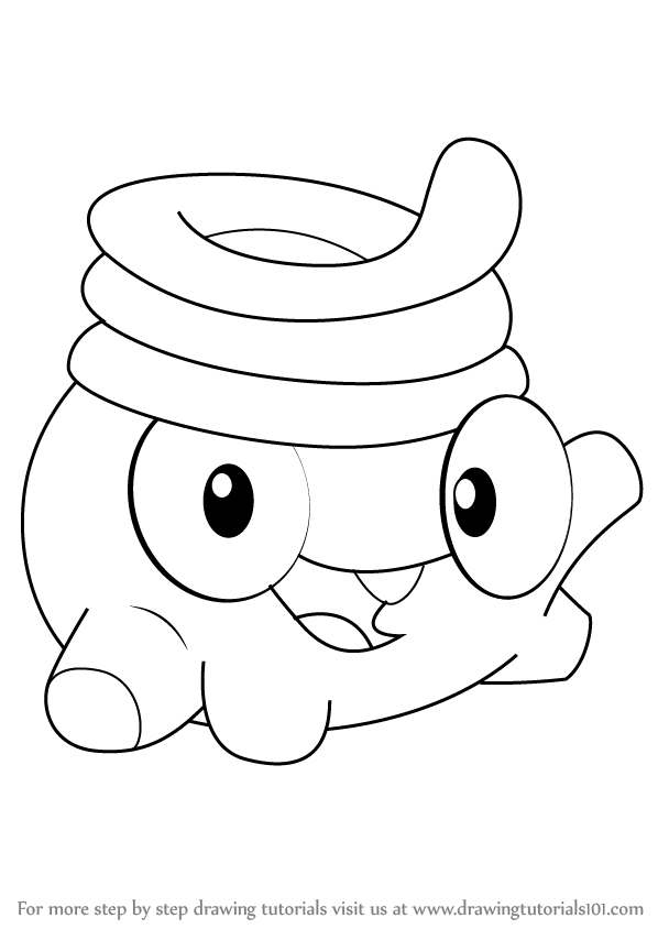 598x844 Learn How To Draw Toss From Cut The Rope (Cut The Rope) Step By