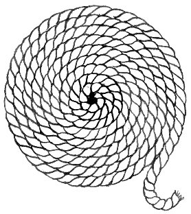 278x312 7cm X 5cm Acrylic Keyring Line Drawing Rope Coil Amazon.co.uk