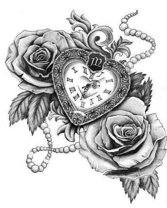 343x429 Resultado De Imagem Para Rosa Busula Drawing Tattoos