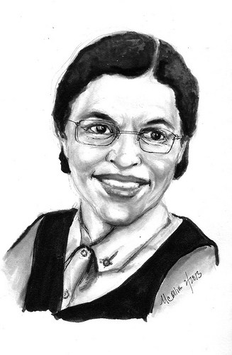 Rosa Parks Drawing