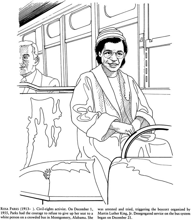 Rosa Parks Drawing at GetDrawings.com | Free for personal use Rosa ...