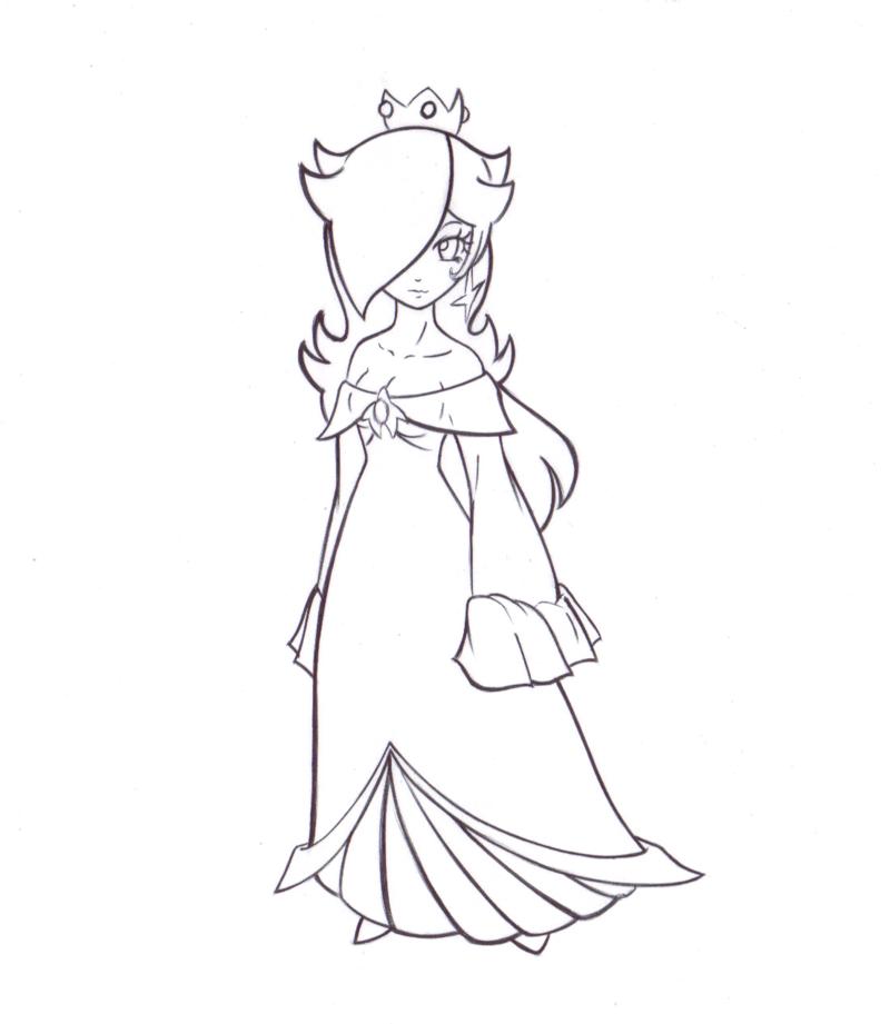 800x921 Princess Rosalina Coloring Pages { P R I N T S }