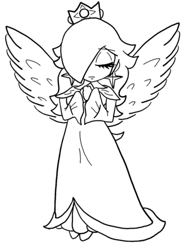 356x480 Baby Rosalina Coloring Page Free Printable Coloring Pages