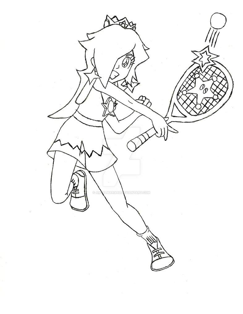 786x1017 Rosalina Mario Tennis Ultra Smash By Phantommasterramos89