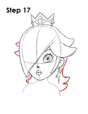 300x388 How To Draw Rosalina