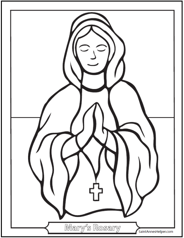 Rosaries Drawing