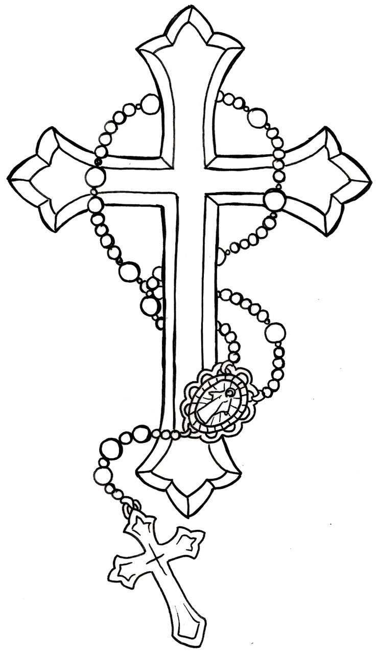 736x1278 Rosary Beads Tattoo Designs Ideas About Rosary Tattoos