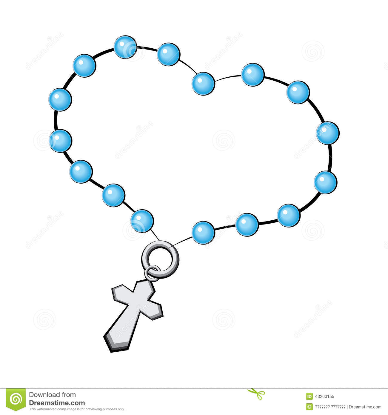 Rosary Beads Drawing