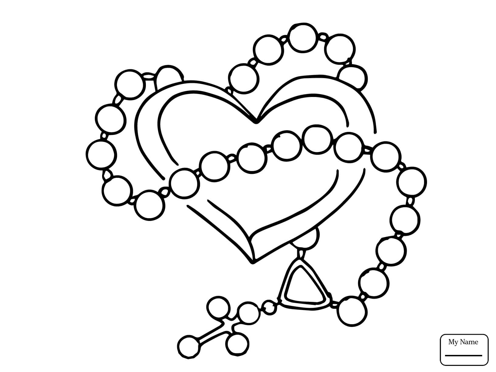 Rosary Beads Drawing at GetDrawings.com | Free for personal use ...