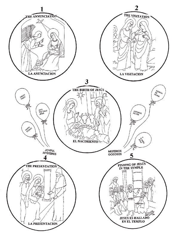 1454x1976 Rosary Coloring Pages 600x784 Worksheets