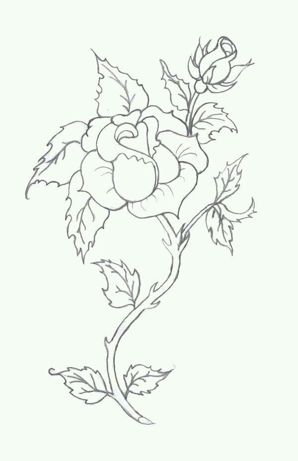 Rosary Tattoo Drawing