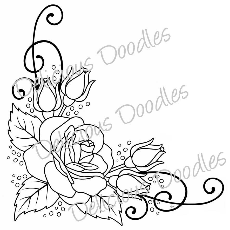 886x886 Rose Drawings Drawing Roses Rose Drawings