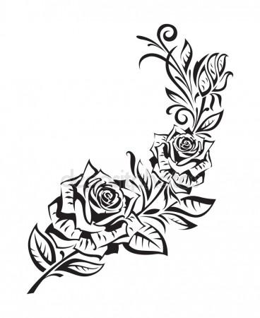368x450 Rosebush Stock Vectors, Royalty Free Rosebush Illustrations