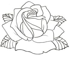236x192 Two Roses Outline Rose Flowers Wall Stickers Wall Art Decal