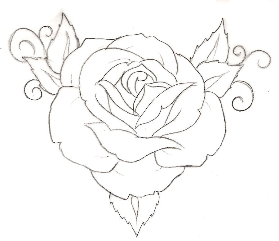 900x777 Rose Tattoo 1 By ~metacharis On Tattoos And Flash