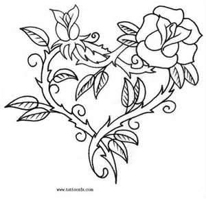 300x290 Skull Rose By Sirius Tattoo Designs Interfaces Design Ink Lt3