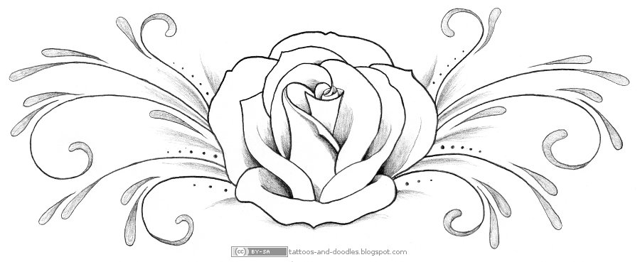 900x369 Tattoos And Doodles Ornamental Tattoos And Flowers
