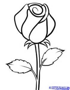235x300 Drawing Beautiful Roses How To Draw A White Rose, Step By Step