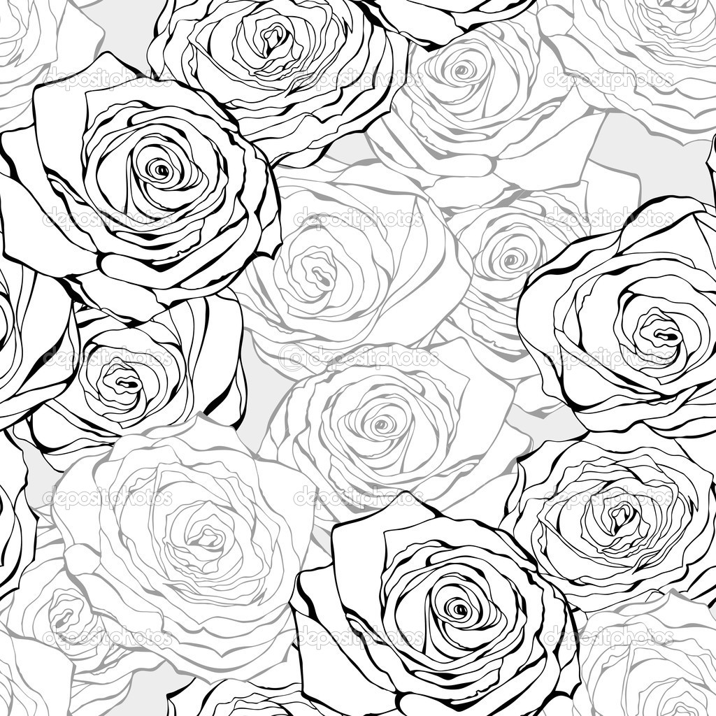1024x1024 Coloring Flowers