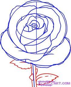 236x290 Draw Rose Petals If You Paint