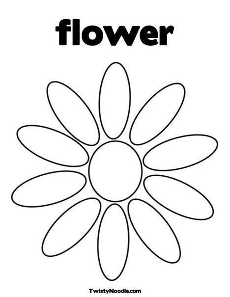 468x605 Flower Petals Coloring Pages