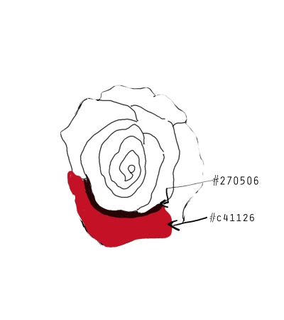 400x450 How To Draw A Realistic Rose Of Photoshop