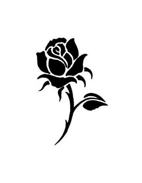 463x599 Afbeeldingsresultaat voor rose silhouette decoraciones