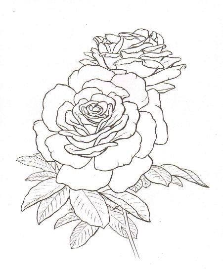 451x552 Roses Tattoo