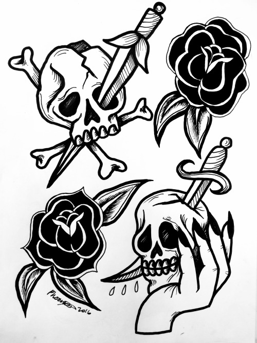 500x667 Dark Traditional Tattoo Tumblr