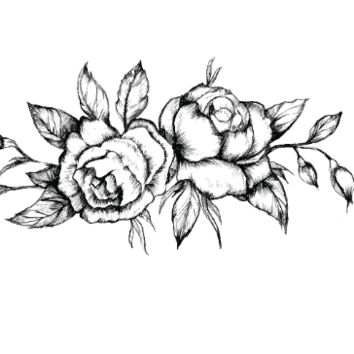 354x354 Best Temporary Rose Tattoo Products On Wanelo