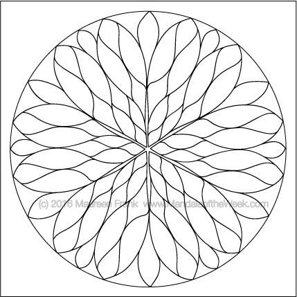 Rose Window Drawing