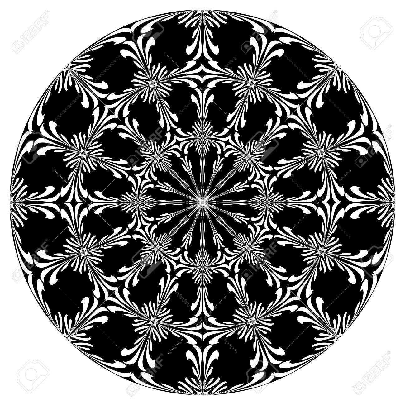 1300x1300 Rose Window With Holy Cross Symbols Derived From Ancient Motifs