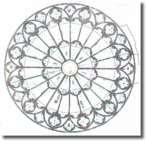 488x469 Rose Window
