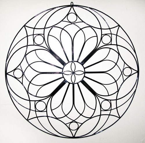 500x494 Rose Window Design