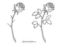 236x174 Three Roses In Hand Drawn Style Templates Hand