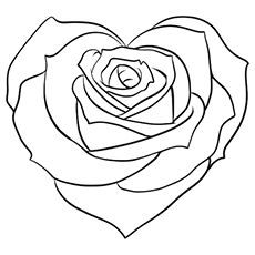 230x230 Flower Outline Tattoos Rose Outline Tattoo Stencil Line Art