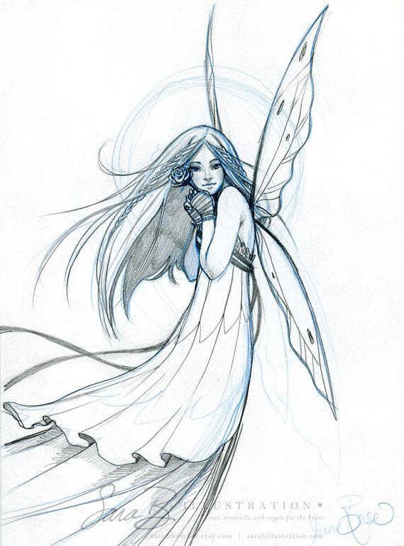 570x771 Flower Pencil Sketch Drawing