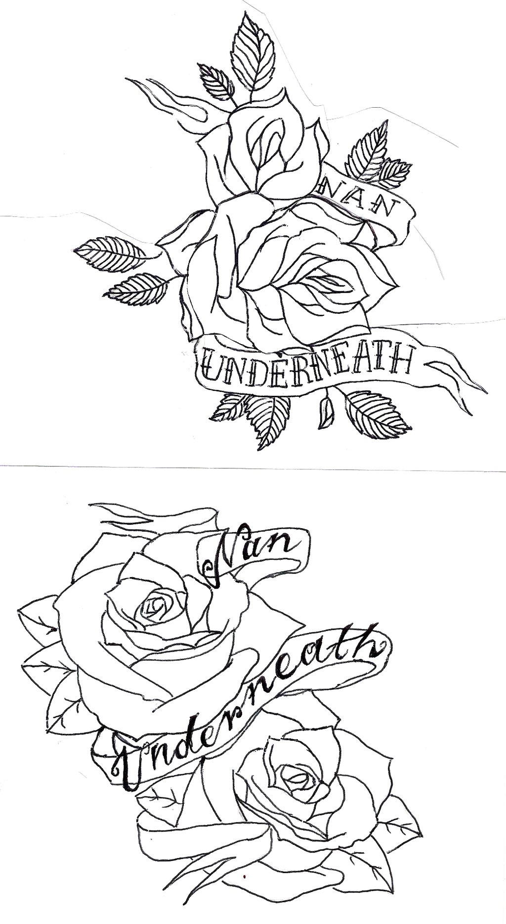 1024x1870 Pencil Sketches Of Hearts And Roses
