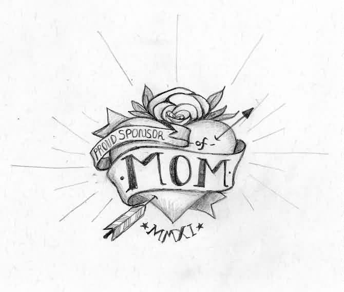 670x568 Amazing Mom Tattoo Designs