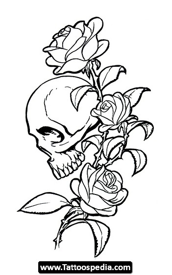 351x560 Tattoo Roses 07