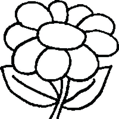 400x400 Entertaining Coloring Pages Of Flowers Image Beautiful Best Easy