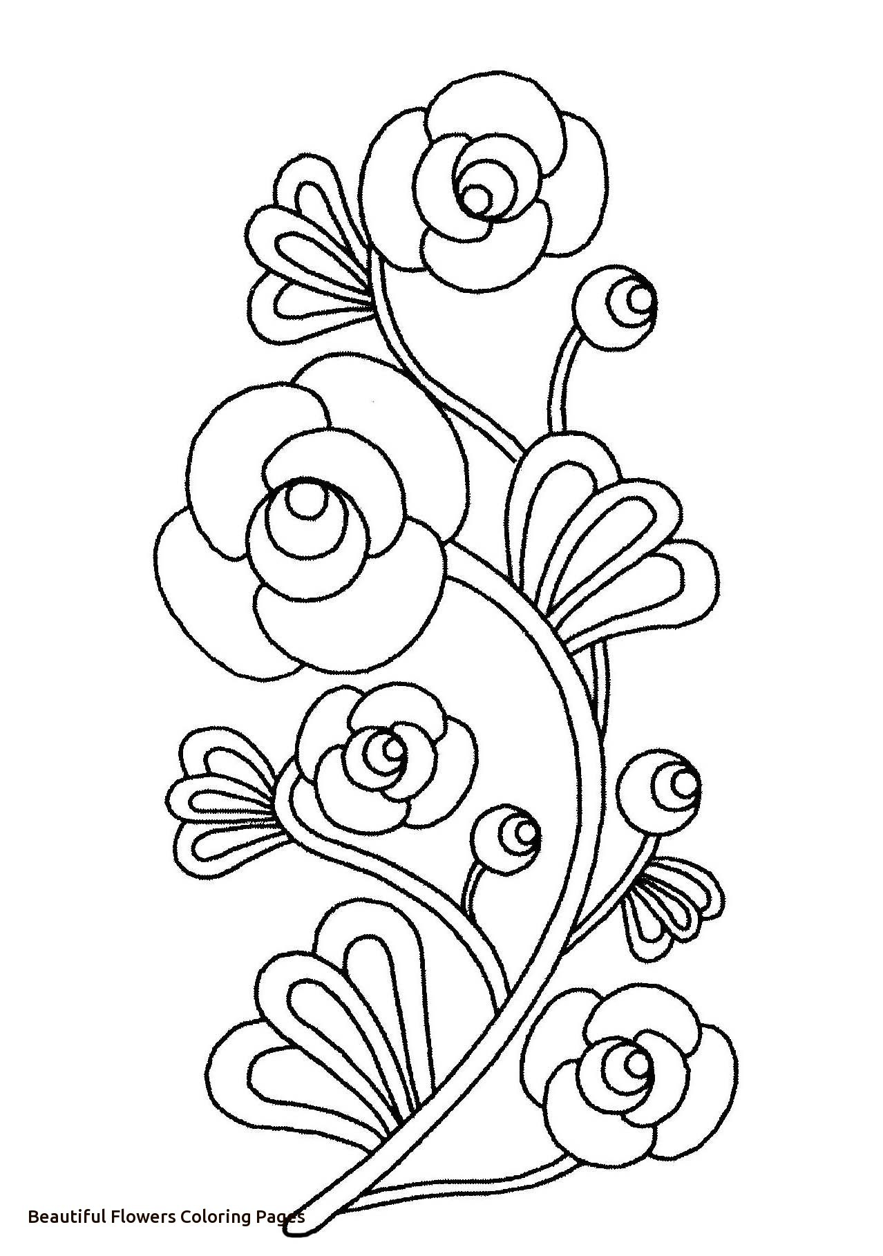 1278x1818 Nice Rose Flower Coloring Pages For Kids Beautiful Rose Flower