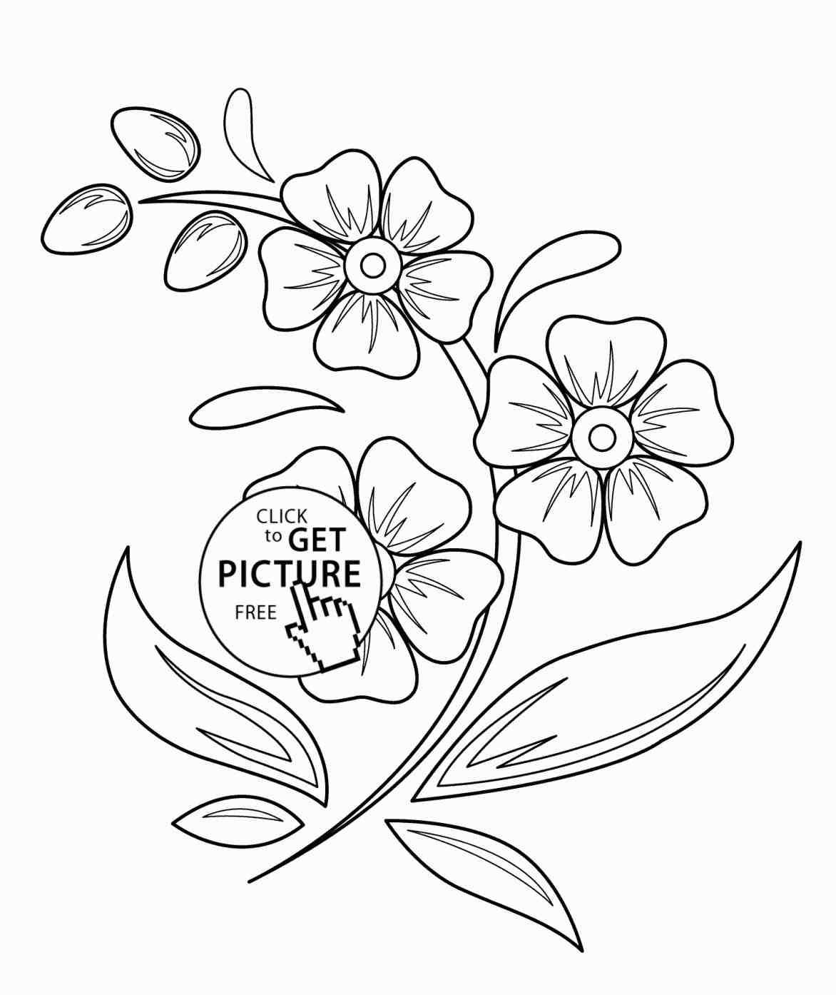 1172x1394 Kids Drawings Of Flowers Drawing Beautiful Drawings Of Flowers