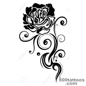 300x300 Black Rose Tattoo Designs, Ideas, Meanings, Images