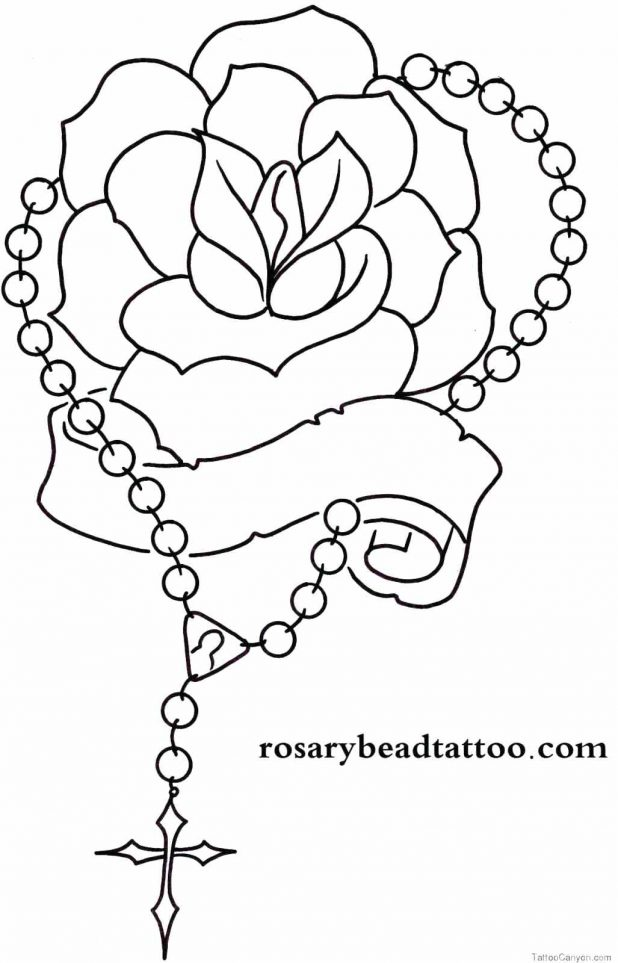 618x963 Coloring Amusing Roses Tattoo Outline. Roses Tattoo Designs
