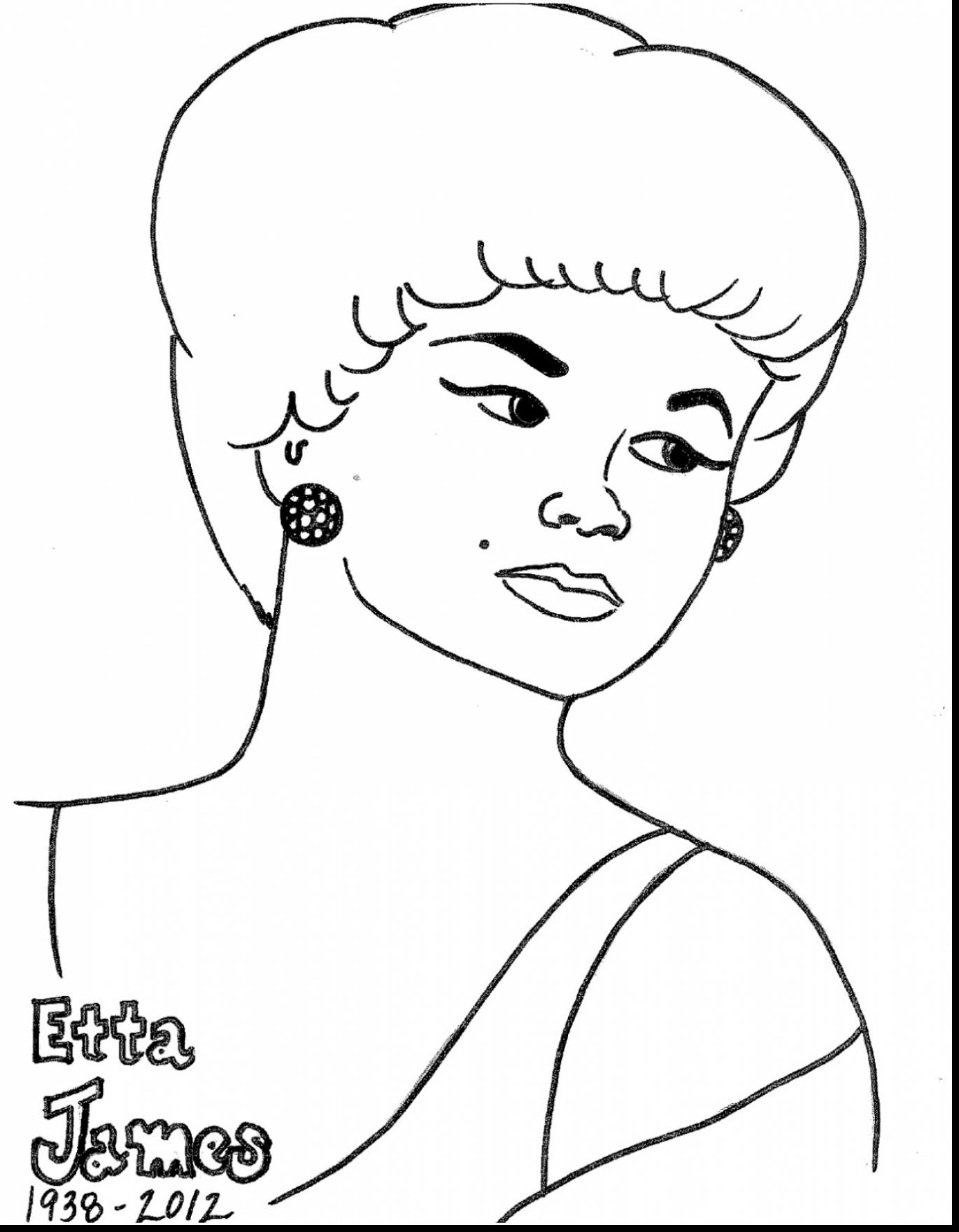 1371x1760 Rosa Parks Coloring Page Worksheets Rosie The Riveter Best