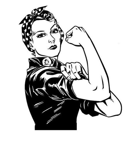 474x493 Rosie The Riveter Coloring Page