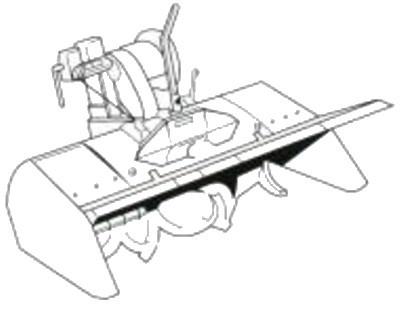 400x312 Honda Fm66 Rear Cultivator Attachment To Fit The F720 Cultivator