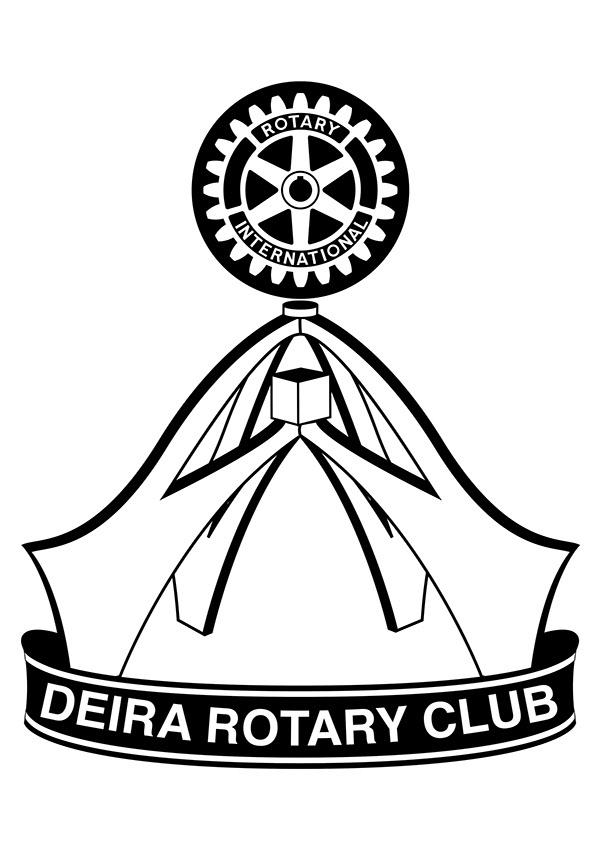 600x849 Deira Rotary Club Logo On Behance