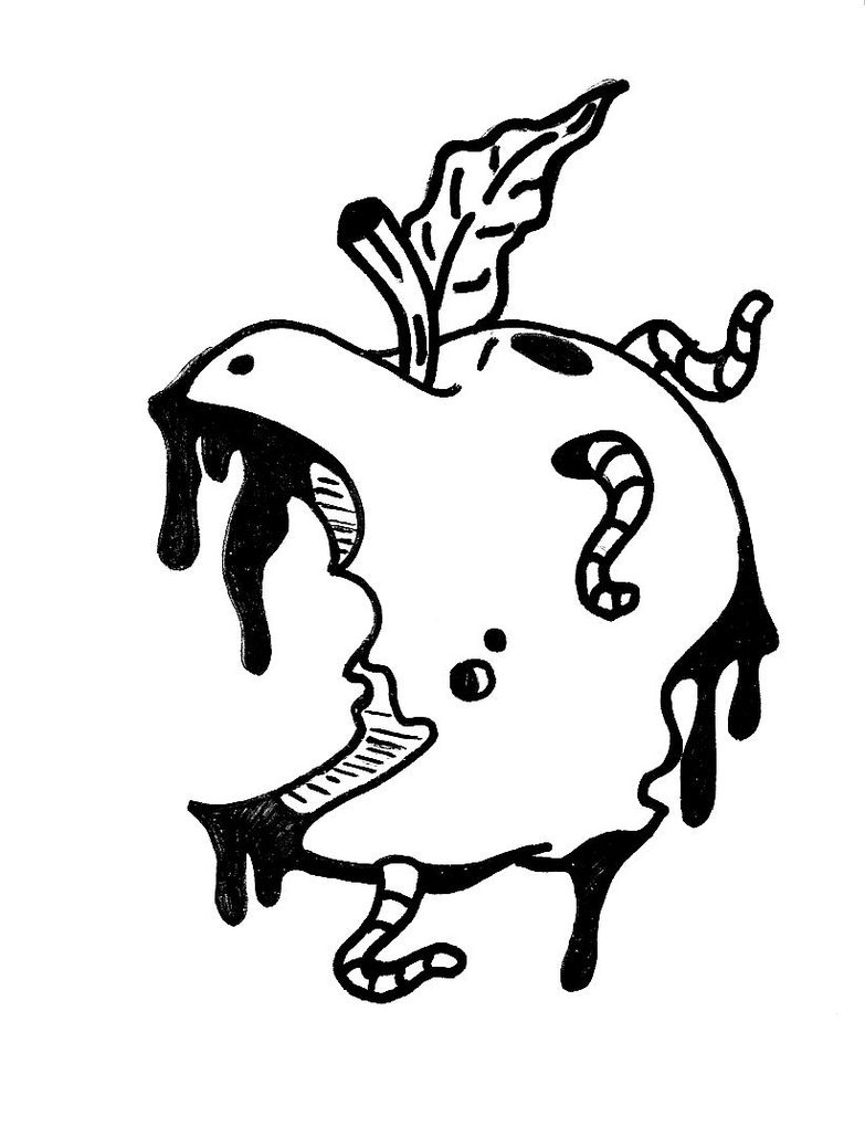 783x1020 Rotten Apple By Willsonn